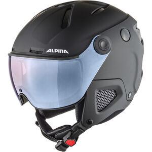 Alpina Attelas Visor QVM Helmet black matt silver black matt silver