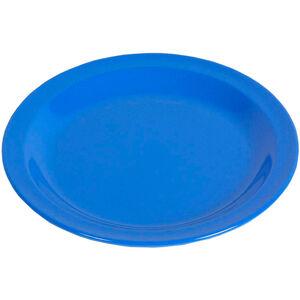 Waca Teller Melamin Flach 23,5cm blue blue