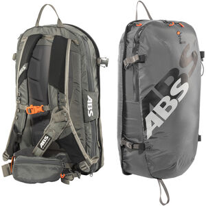 ABS s.LIGHT Compact Base Unit + s.LIGHT Compact Zip-On 15l Backpack rock grey rock grey