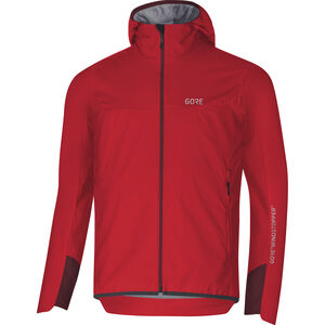 GORE WEAR H5 Windstopper Insulated Hooded Jacket Herren red/chestnut red red/chestnut red
