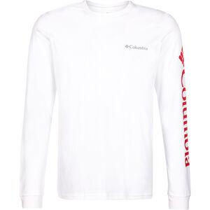 Columbia Columbia Lodge Langarm Graphic T-Shirt Herren white/sleeve hit white/sleeve hit