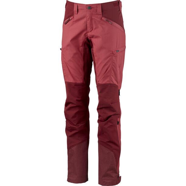 Lundhags Makke Pants Damen garnet/dark red