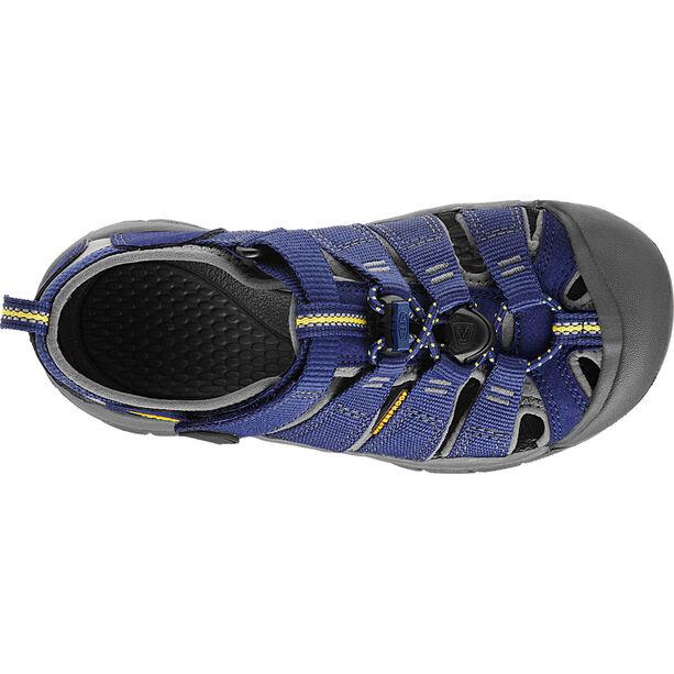 Keen Newport H2 Sandals Kinder blue depths/gargoyle
