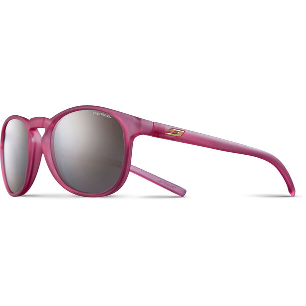 Julbo Fame Spectron 3+ Sunglasses 10-15Y Kinder matt translucent pink-gray flash silver