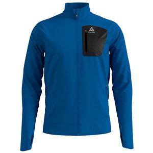 Odlo Blaze Ceramiwarm Pro Full-Zip Midlayer Herren directoire blue melange directoire blue melange