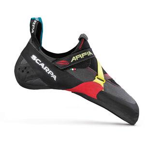 Scarpa Arpia Climbing Shoes Herren black/red black/red