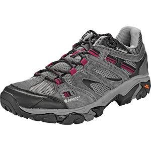 Hi-Tec Ravus Vent Low WP Shoes Damen charcoal/cool grey/amaranth charcoal/cool grey/amaranth