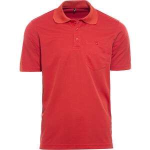 axant Alps Polo Agion Active Herren aurora red