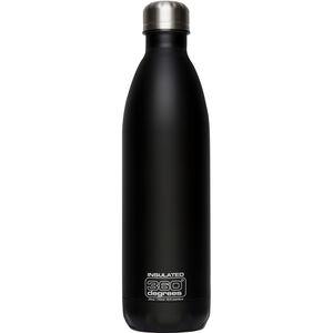 360° degrees Soda Insulated Drink Bottle 750ml black black
