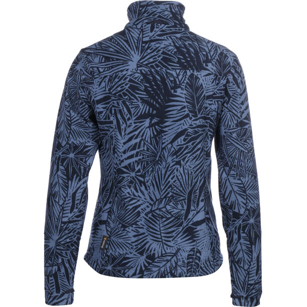 Jack Wolfskin Kiruna Jungle Fleece Jacke Damen midnight blue all over