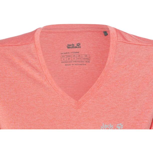 Jack Wolfskin Crosstrail T-Shirt Damen flamingo