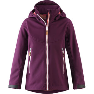 Reima Vandra Softshell Jacke Mädchen deep purple deep purple