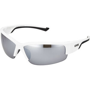 UVEX Sportstyle 215 Sportbrille white/black/silver white/black/silver