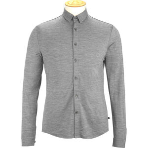Alchemy Equipment 180GSM Single Jersey Merino Shirt Herren grey marle grey marle