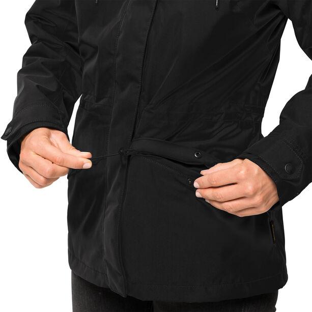 Jack Wolfskin Rochelle 3in1 Jacke Damen black