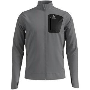 Odlo Blaze Ceramiwarm Pro Full-Zip Midlayer Herren grey melange grey melange