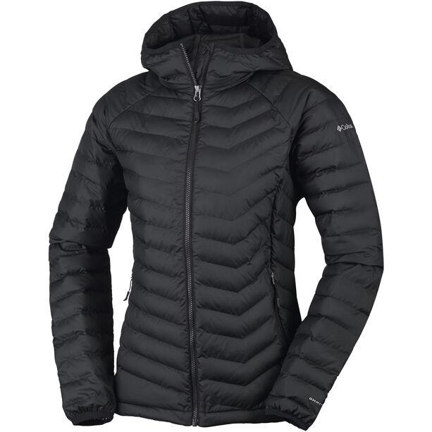 Columbia Powder Lite Hooded Jacket Damen black