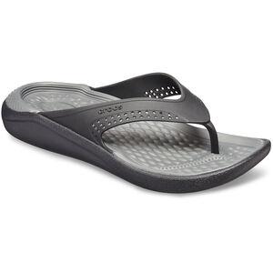 Crocs LiteRide Flip Sandals black/slate grey black/slate grey