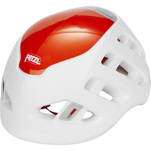 Petzl Sirocco Kletterhelm weiß/orange weiß/orange