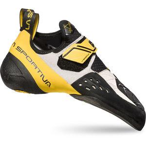 La Sportiva Solution Climbing Shoes Herren white/yellow white/yellow