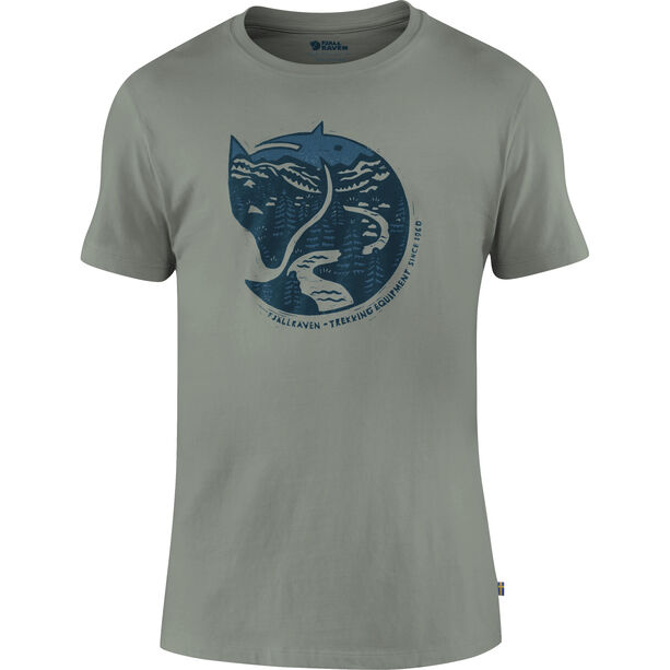 Fjällräven Arctic Fox T-Shirt Herren fog