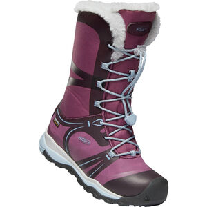 Keen Terradora Winter WP Shoes Jugend winestasting/tulipwood winestasting/tulipwood