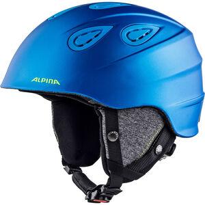 Alpina Grap 2.0 Ski Helmet blue-neon-yellow matt blue-neon-yellow matt