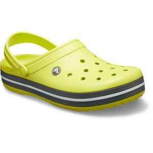 Crocs Crocband Clogs citrus/grey citrus/grey