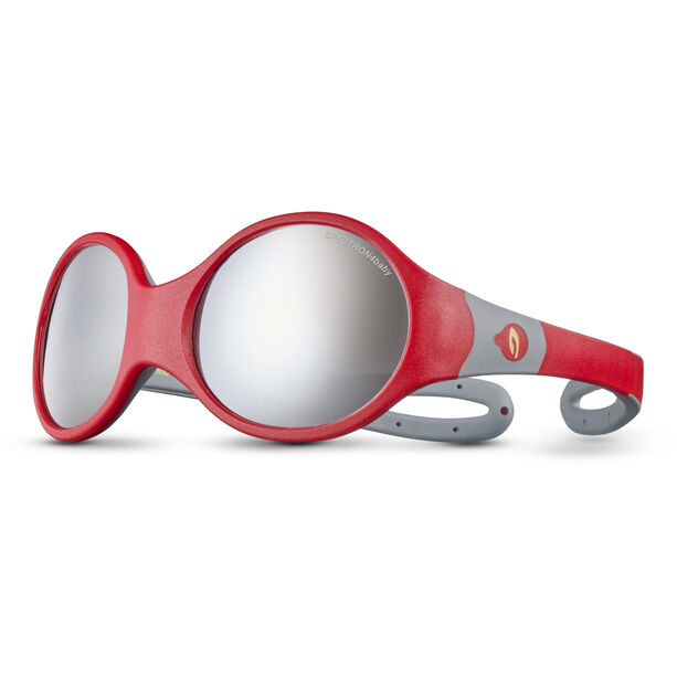 Julbo Loop L Spectron 4 Sonnenbrille Kinder red/grey/grey flash silver
