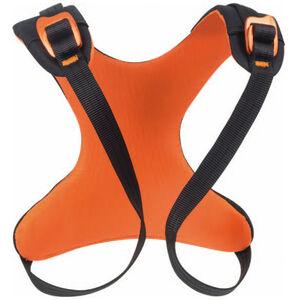 Beal Rise Up Chest Harness Kinder orange/black orange/black