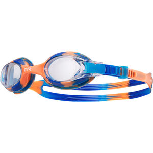 TYR Swimple Tie Dye Goggles Kinder blue/orange