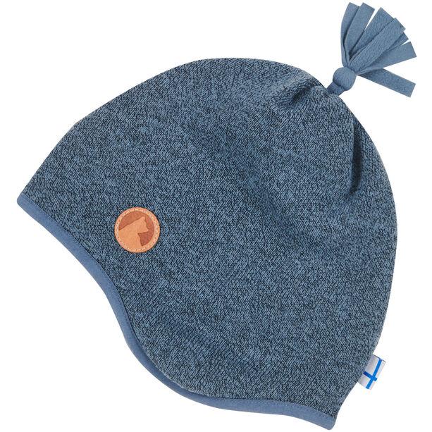 Finkid Tipu Strickmütze Kinder blue mirage
