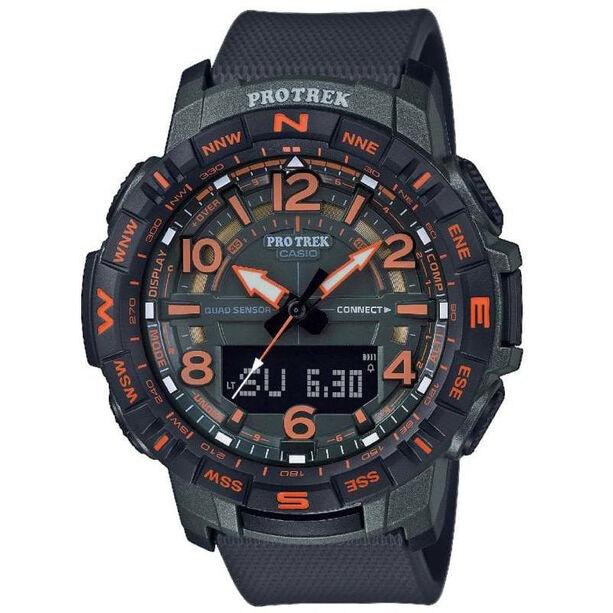 CASIO PRO TREK PRT-B50FE-3ER Uhr Herren black/orange