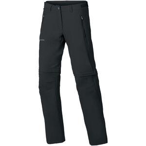 VAUDE Farley Stretch ZO T-Zip Pants Damen black black