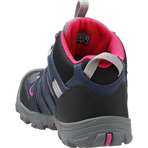 Keen Oakridge Mid WP Shoes Kinder dress blues/very berry