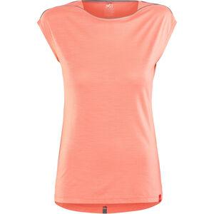 Millet Cloud Peak Shortsleeve Shirt Damen peach peach