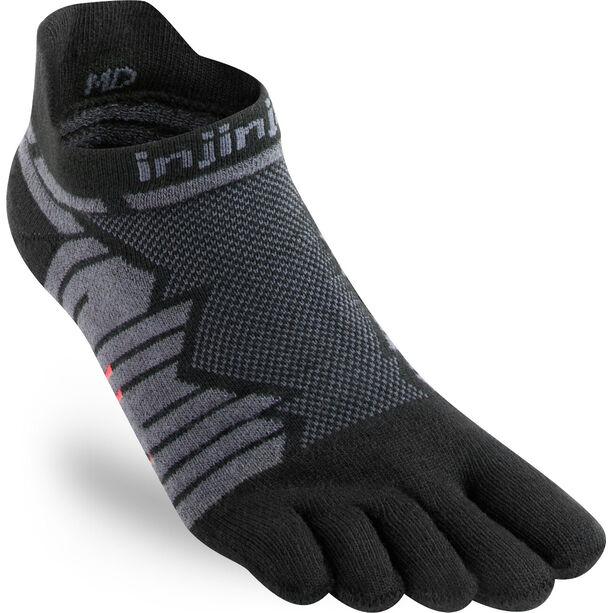 Injinji Ultra Run No-Show Socks Herren onyx