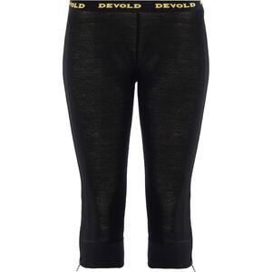 Devold Wool Mesh Zip-Off Capri Pants Damen black black