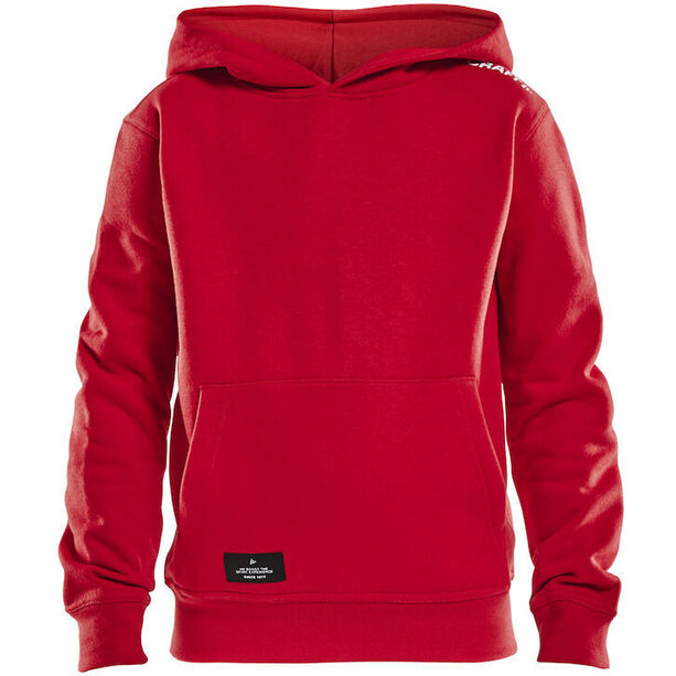 Craft Community Hoodie Kinder bright red