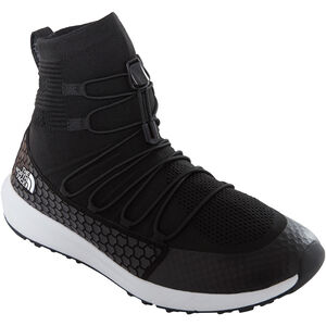 The North Face Touji Mid Lace Shoes Herren tnf black/tnf white tnf black/tnf white