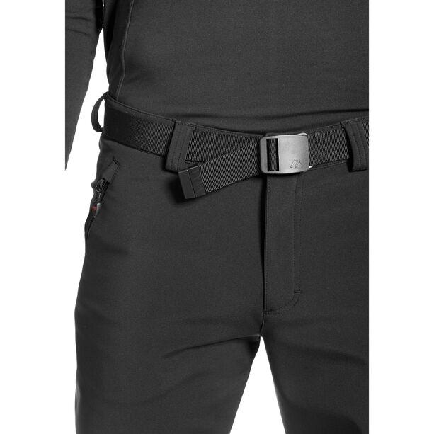 Maier Sports Tech Pants Softshell Hose Herren black