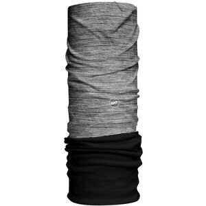 HAD Solid Stripes Fleece Tube Scarf alex/black fleece alex/black fleece