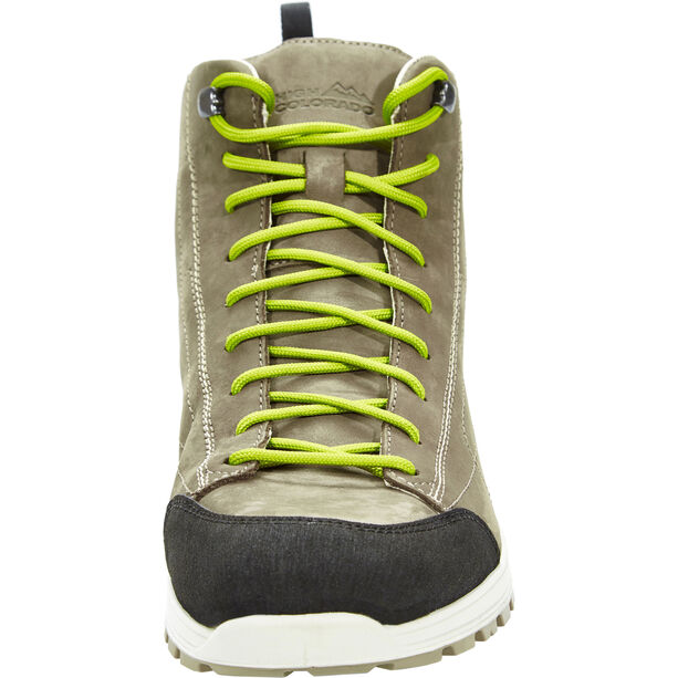 High Colorado Sölden Mid High Tex Trekkingschuhe Grey -Olive