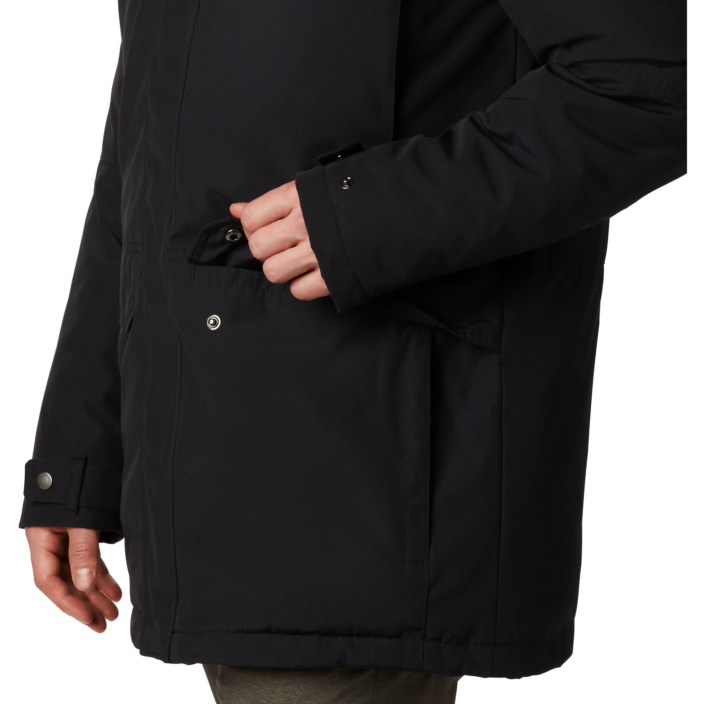 Columbia Marquam Peak Parka Herren black