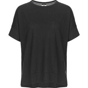 super.natural Slash Neck T-Shirt Damen jet black jet black