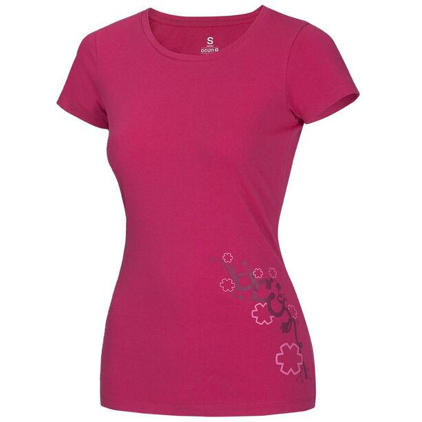 Ocun Blooms T-Shirt Damen fresh pink