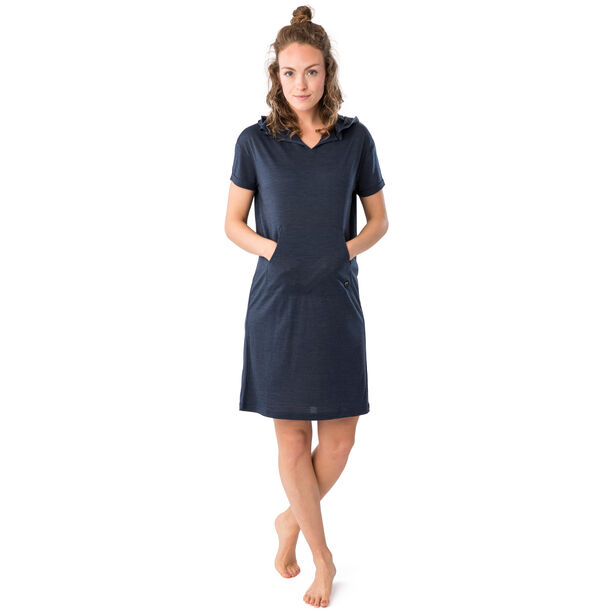 super.natural Relax Kleid Damen blue iris melange