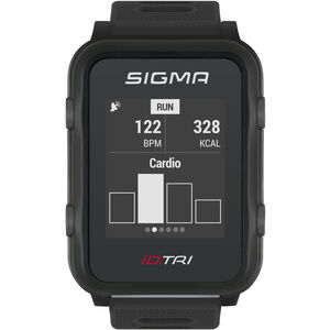 SIGMA SPORT iD.TRI Basic Multi-Sport Watch black black