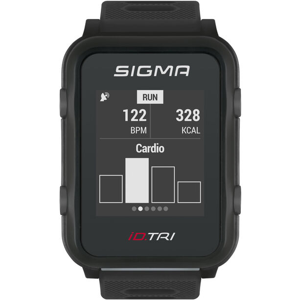 SIGMA SPORT iD.TRI Basic Multi-Sport Watch black