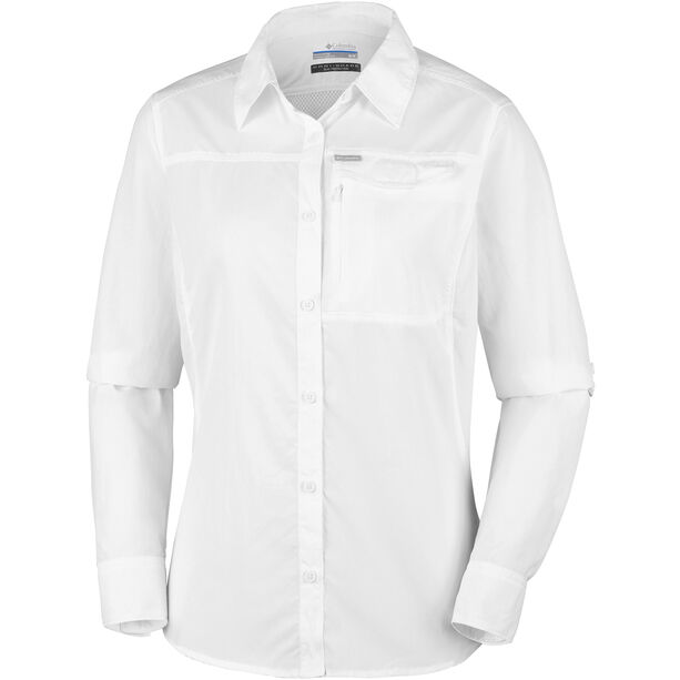 Columbia Silver Ridge 2.0 Longsleeve Shirt Damen white